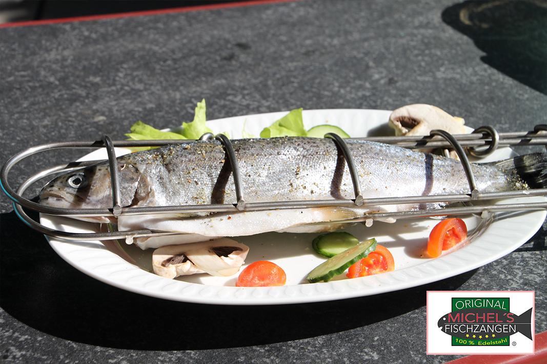 Weber Holzkohlegrill Fisch : Original michel´s fischzangen zum grillen forelle grillen fisch